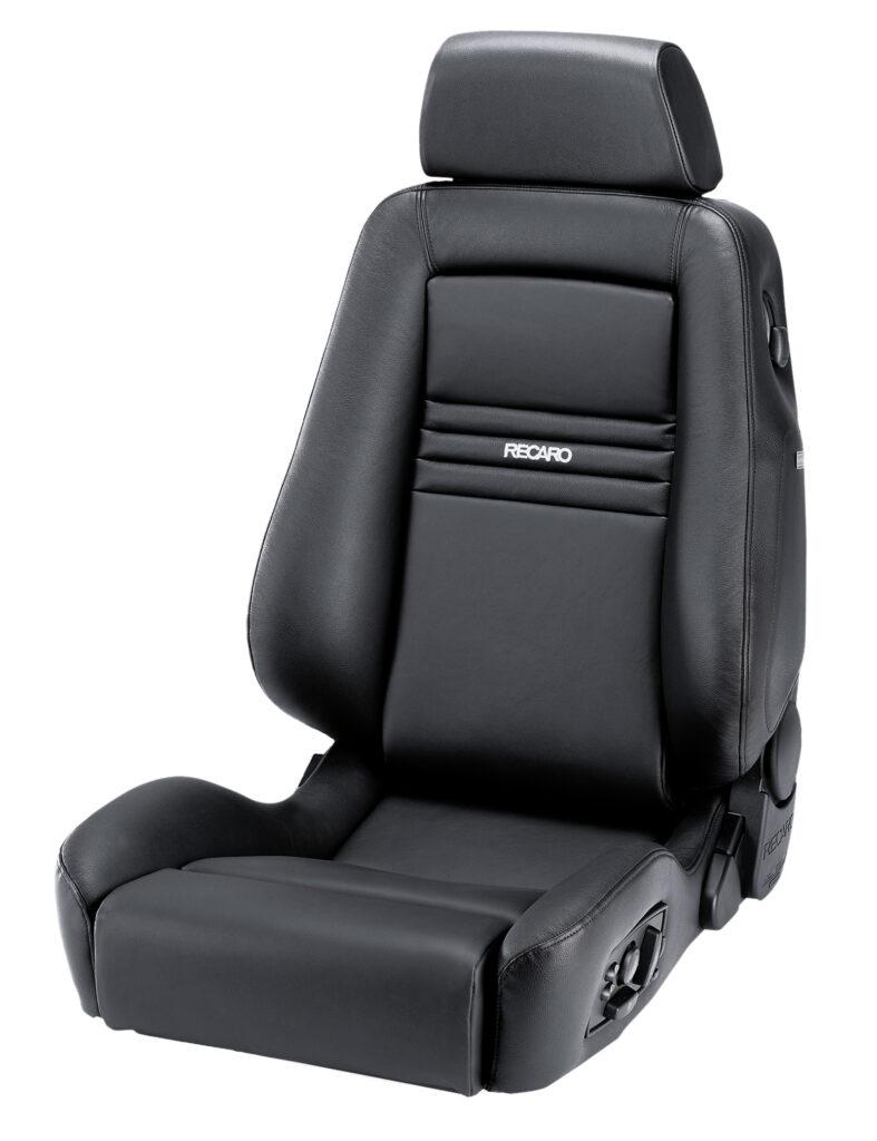 RECARO Ergomed ES Leder schwarz mit Universal-Seitenairbag 1