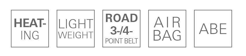RECARO Pole Position (ABE) Perlonvelours schwarz 3